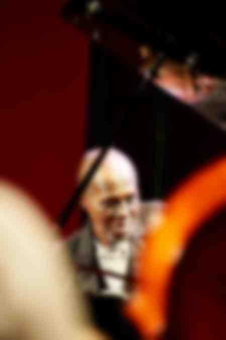 Charles Gayle portrait at the piano Cabaret Vauban 2011