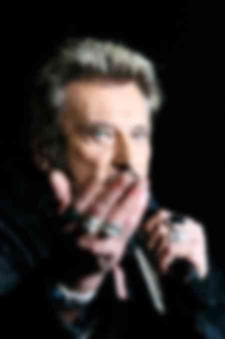 Johnny Hallyday stage portrait Brest 2006