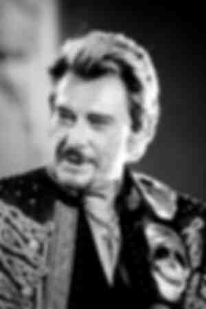Johnny Hallyday stage portrait Flashback tour 2006