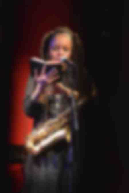 Matana Roberts saxophone Cabaret Vauban mars 2012