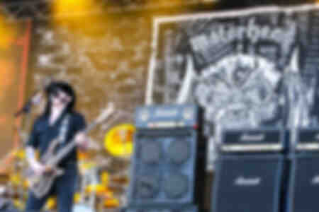 Motörhead Lemmy Kilmister Old Plows Festival 2008