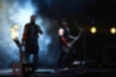 Rammstein aux Vieilles Charrues 2013