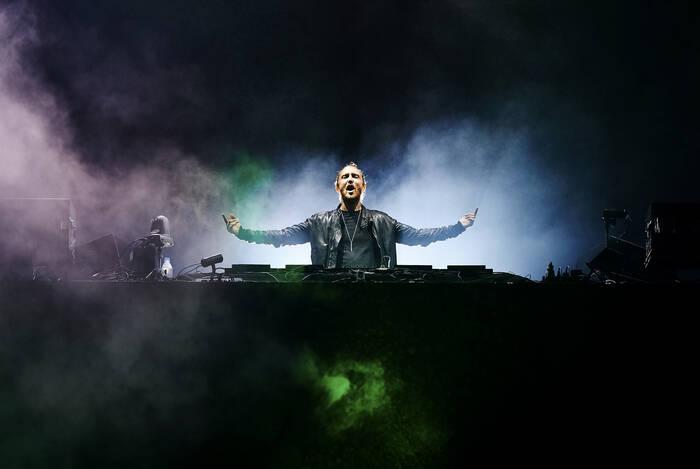David Guetta Aux Vieilles Charrues 2015