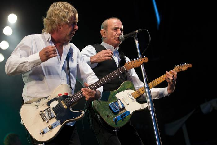 Status Quo Rick Parfitt Et Francis Rossi