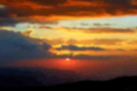 Puesta de sol etíope