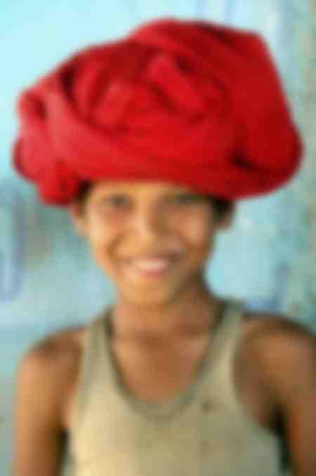 La sonrisa de Rajasthan