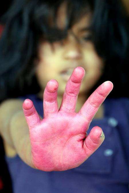 Hand Holi