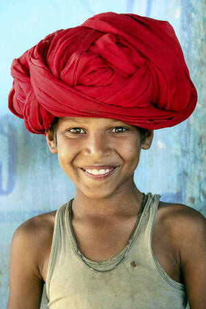 The smile of Rajasthan