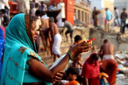 Offrandes au Gange
