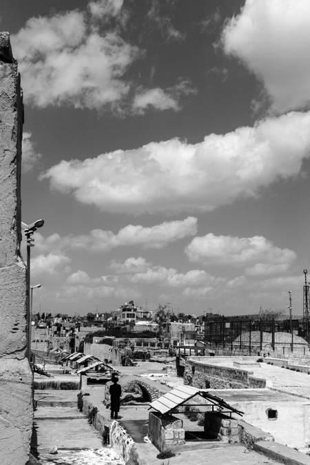 Jerusalem above the roofs