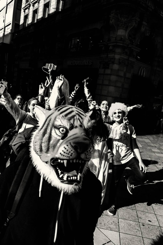 Un Tigre Hante La Ville