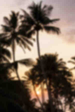 Coucher de soleil à Kabalana