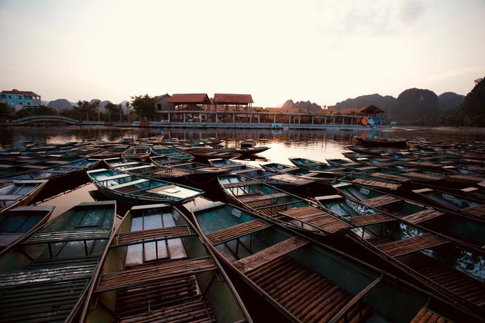 Les Barques Au Vietnam
