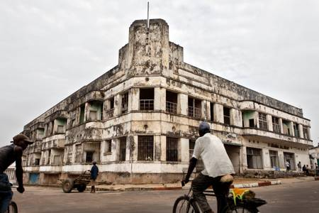 L'hôtel des chutes à Kisangani