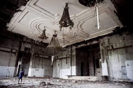 La salle de bal du Palais Bamboo
