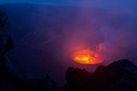 Le volcan Nyragongo
