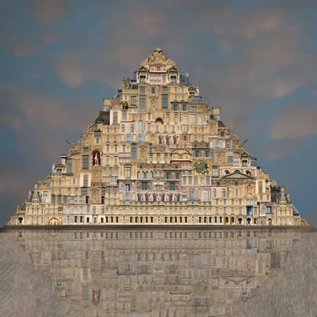re dé contruction Louvre