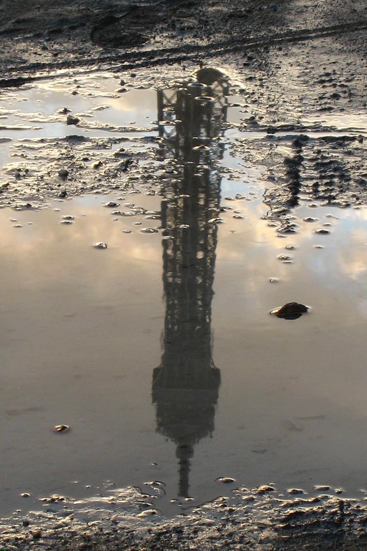 Reflet De Tour Eiffel