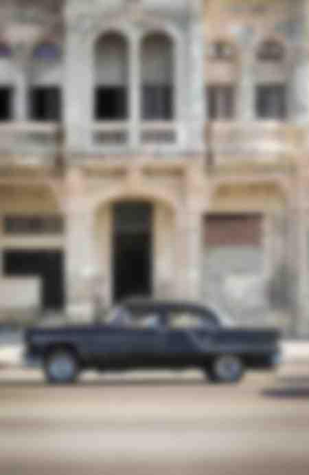 Havanna - Kuba Oldtimer - schwarz