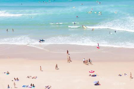 Strand von Biarritz 3