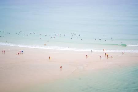 Biarritz in summer 2