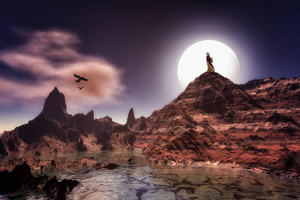 La Dame De La Montagne