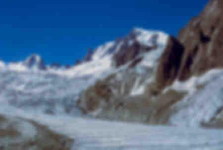 Giant e Tacul Glacier