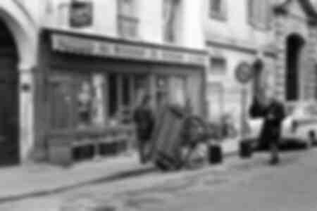 Le bougnat du quartier du Marais 1970