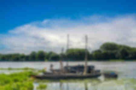 Port of La possoniere on the Loire