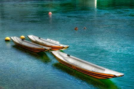 Les trois bateaux
