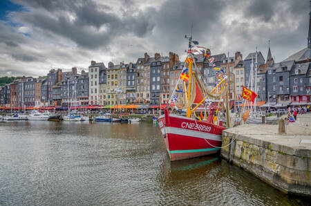 On the docks of Honfleur