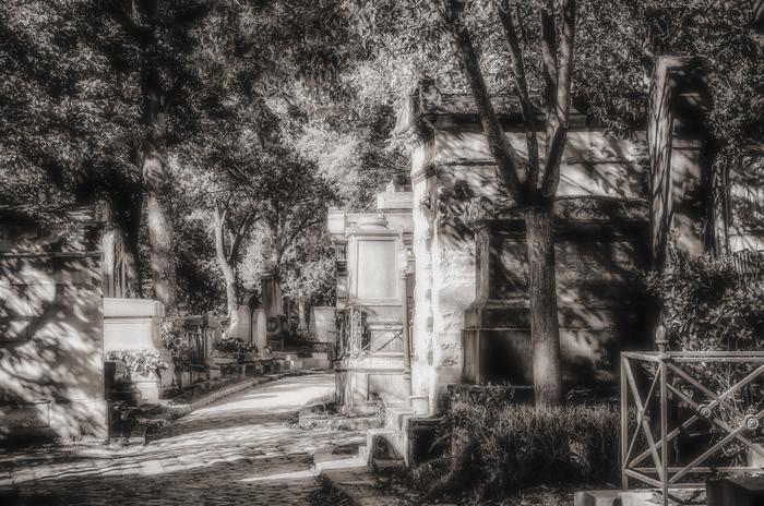 Les Rues Du Pere Lachaise