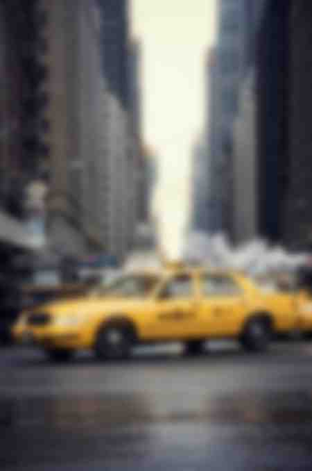 taxi giallo a New York
