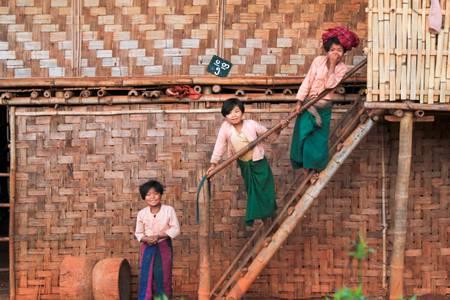 The Burmese sisters