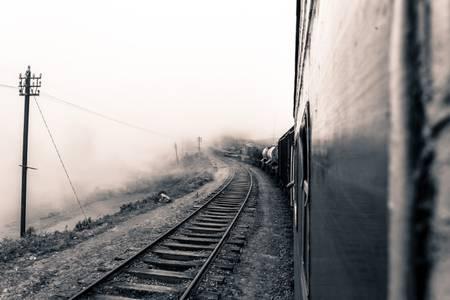 Train dans la brume Sri Lanka