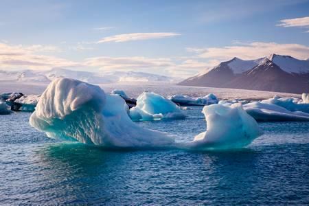 Griffe glacée de Jökulsárlón