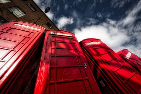 PHONE BOX - LONDON
