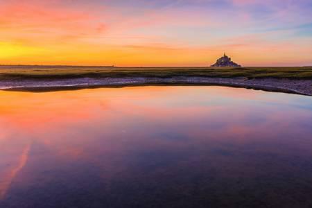 Mont Saint Michel colors