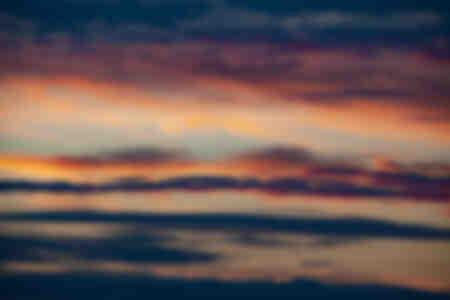 Cielo nublado oscuro horizontal