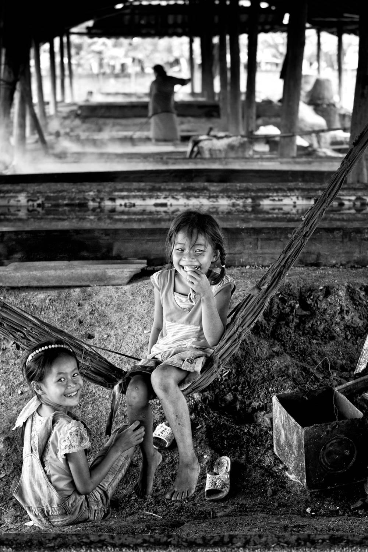 Sourires Laotien
