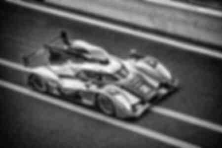 The Audi R18 TDI winner of the 24 Hours of Le Mans 2011 I