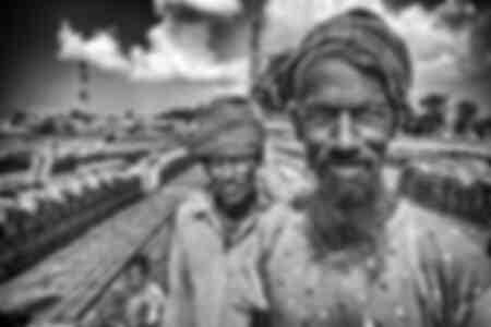 Retrato bengalí
