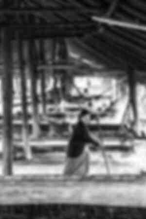 Harvesting salt in Laos I