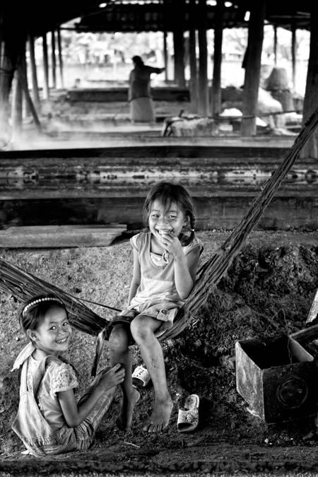 Laotisches Lächeln