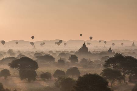 Early morning in Bagan