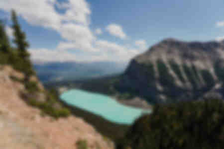 Lake Louise from the top