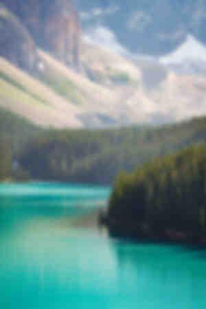 Layers of Moraine Lake