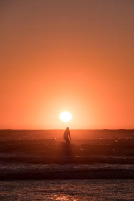 Golden hour Surf