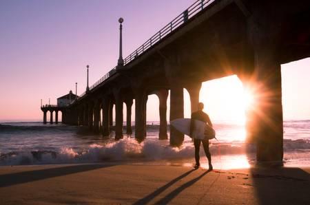 Surfista californiano