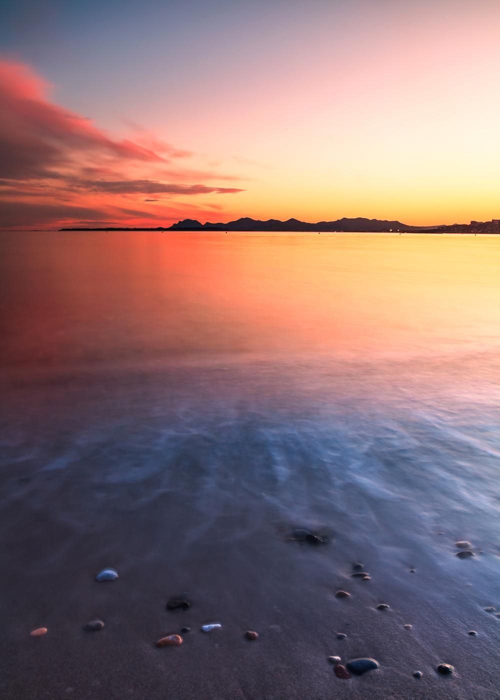 Cap D Antibes Sunset